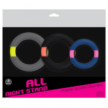 All Night Stand Cock Ring Set 1