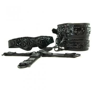 Sinful Black Bondage Kit