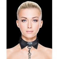 Ouch! Black Exclusive Collar & Leash