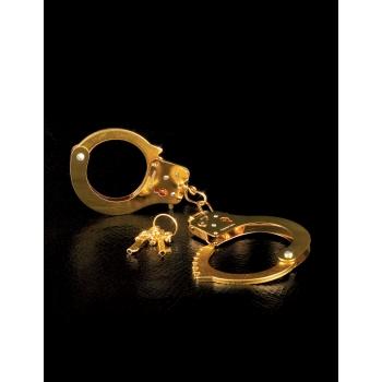Fetish Fantasy Gold Metal Cuffs