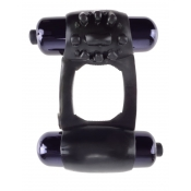 Fantasy C-Ringz Black Duo-Vibrating Super Cock Ring