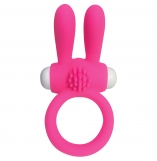Cherry Banana Pink Twin Teaser Vibrating Cock Ring