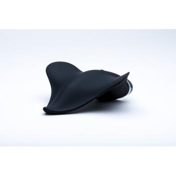 Mimic Black Rechargeable Clitoral Palm Vibrator