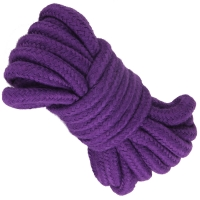 Cherry Banana Dare Purple Bondage Rope Cotton 5m