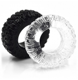 Cherry Banana Rally Tyre Cock & Ball Rings 2 Pack