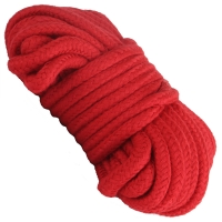 Cherry Banana Dare Red Bondage Rope Cotton 10m
