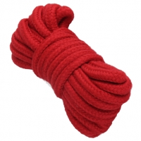 Cherry Banana Dare Red Bondage Rope Cotton 5m