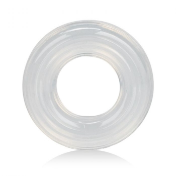 Premium Silicone Clear Cock Ring Set