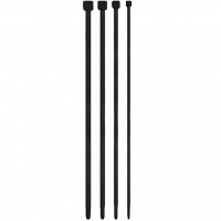 Ouch Black Urethral Sounding Dilator Set 4 Pack
