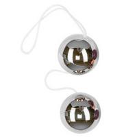 Vibratone Unisex Silver Duo Balls
