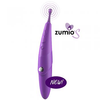 Zumio S Caress Rechargeable SpiroTip Clitoral Stimulator