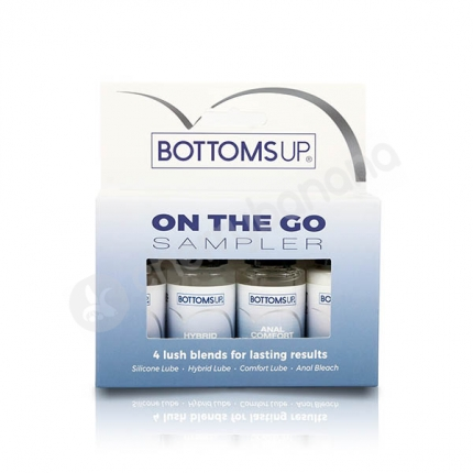 Bottoms Up On-the-go Anal Sampler 4 Pack