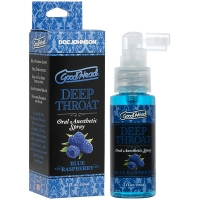 Goodhead Blue Raspberry Deep Throat Spray 59ml