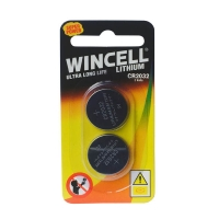 Wincell CR2032 Lithium Batteries 2 Pack