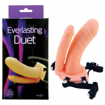 Everlasting Duet Flesh Strap-On