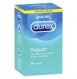 Durex Regular Condoms 30 Pack