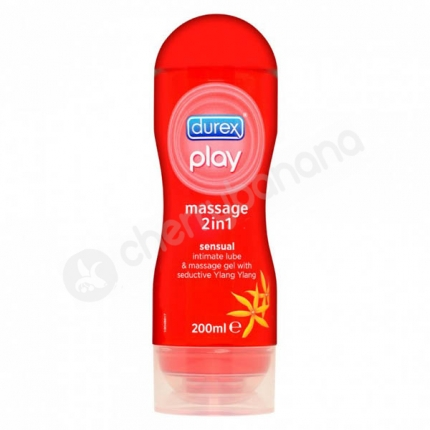 Durex Play Massage 2in1 Sensual Massage Gel & Lubricant 200ml
