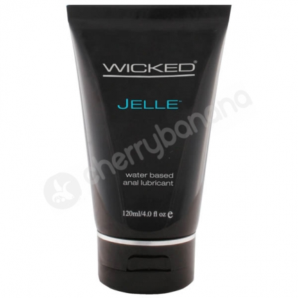 Wicked Jelle Water Based Anal Lubricant 120ml