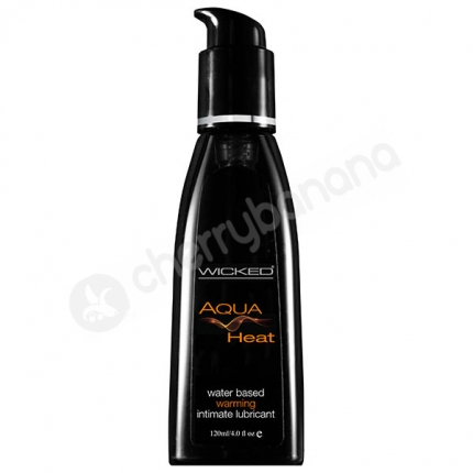 Wicked Aqua Heat Lubricant 120ml