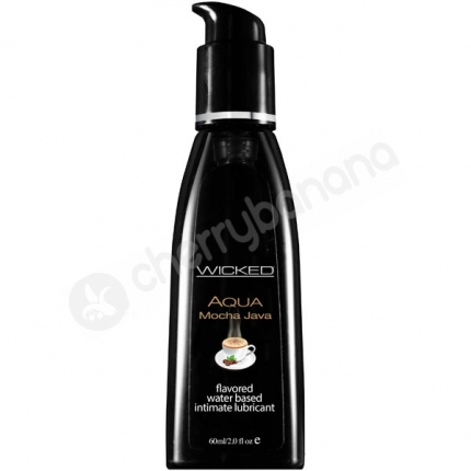 Wicked Aqua Mocha Java Lubricant 60ml