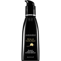 Wicked Aqua Vanilla Bean Lubricant 60ml