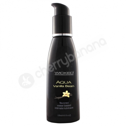 Wicked Aqua Vanilla Bean Lubricant 118ml