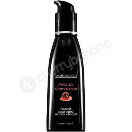Wicked Aqua Cherry Cordial Lubricant 118ml