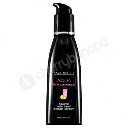 Wicked Aqua Pink Lemonade Lubricant 60ml