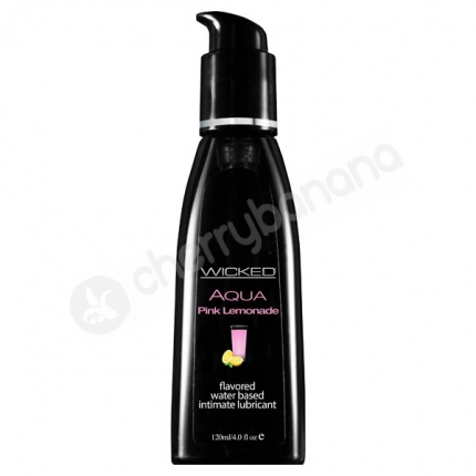 Wicked Aqua Pink Lemonade Lubricant 118ml