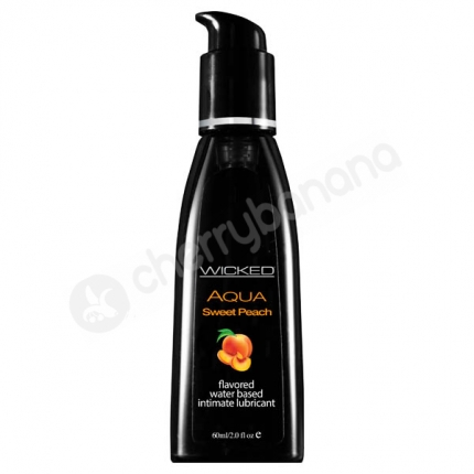 Wicked Aqua Sweet Peach Lubricant 60ml