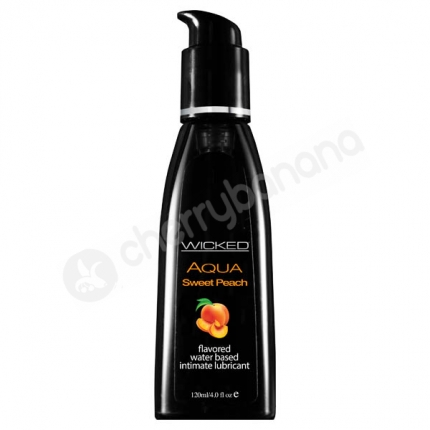 Wicked Aqua Sweet Peach Lubricant 118ml