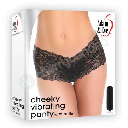 Adam & Eve Cheeky Vibrating Panty