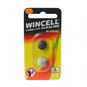 Wincell AG10 Alkaline Batteries 2 Pack
