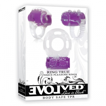 Ring True Vibrating Unique Pleasure Rings