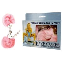 Pink Fluffy Love Cuffs