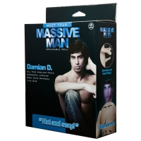 Massive Man Damian D Inflatable Love Doll
