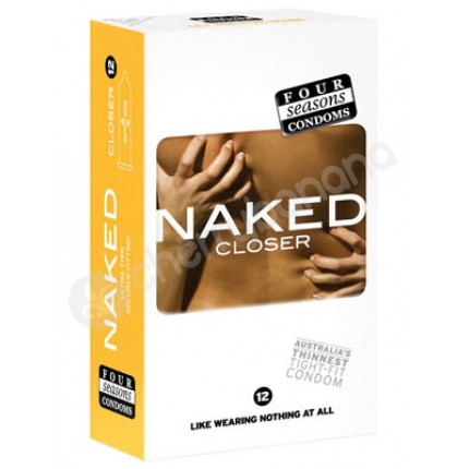 Four Seasons Naked Closer Regular Condoms 12 Pack