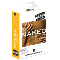 Four Seasons Naked Closer Regular Condoms 6 Pack