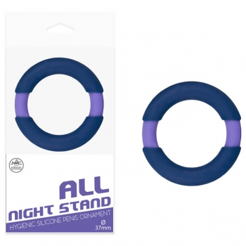 All Night Stand Blue Cock Ring