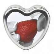 Strawberry Edible Massage Candle 113g