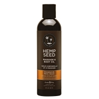 Hemp Seed Dreamsicle Massage & Body Oil 237ml