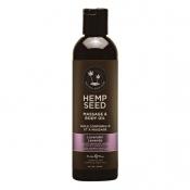 Hemp Seed Lavender Massage & Body Oil 237ml