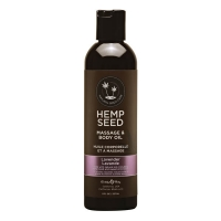 Hemp Seed Lavender Massage & Body Oil 237ml