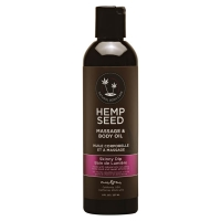 Hemp Seed Skinny Dip Massage & Body Oil 237ml