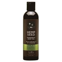 Hemp Seed Naked In The Woods Massage & Body Oil 237ml
