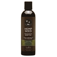Hemp Seed Guavalava Massage & Body Oil 237ml
