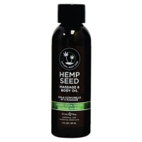 Hemp Seed Naked In The Woods Massage & Body Oil 60ml
