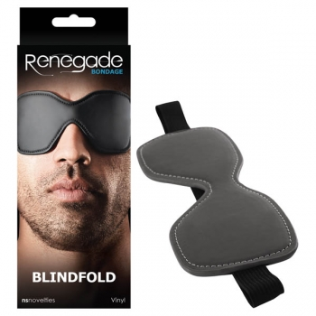 Renegade Bondage Black Blindfold