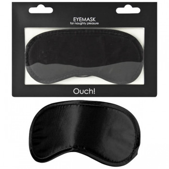 Ouch Black Soft Eyemask