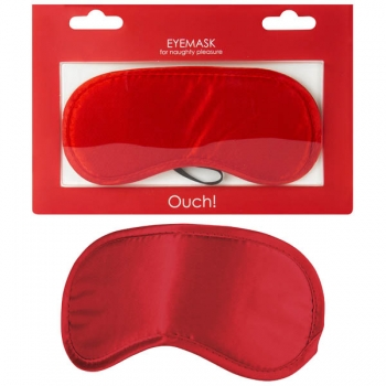 Ouch Red Soft Eyemask